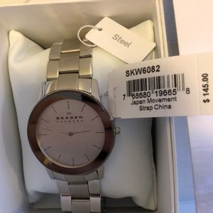 Skagen unisex steel watch